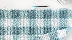 Crotchet teal baby quilts