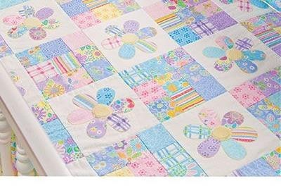 HOW TO MAKE BABY GIRLS QUILTS AND PATTERNS