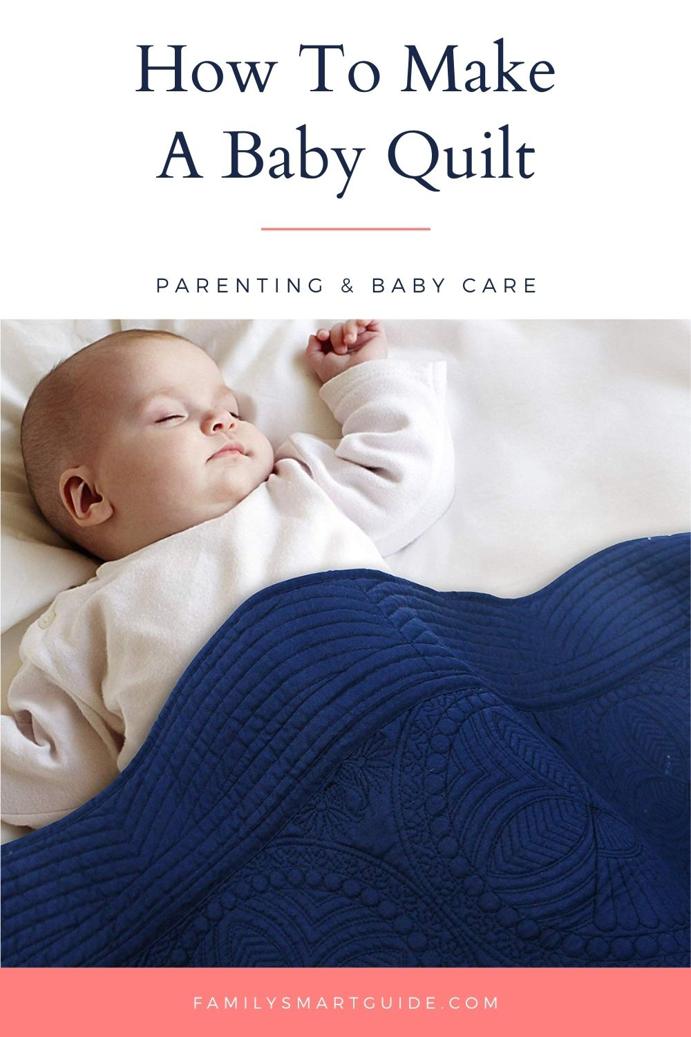 How to Make a Baby Quilt Pinterest