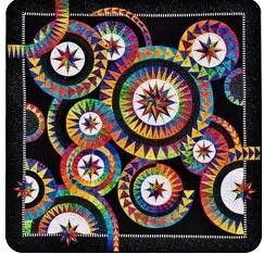 Integrated shape patterns Baby Quilt