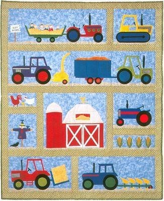 Sewing toy patterns on the baby boy quilts