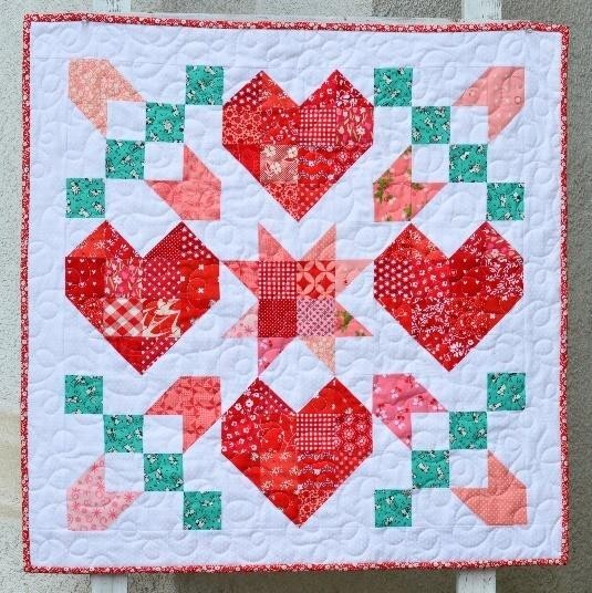 Shape Patterns Baby Quilt