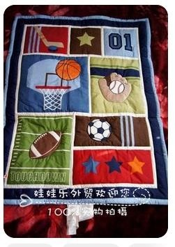 sports and games patterns baby boy quilts