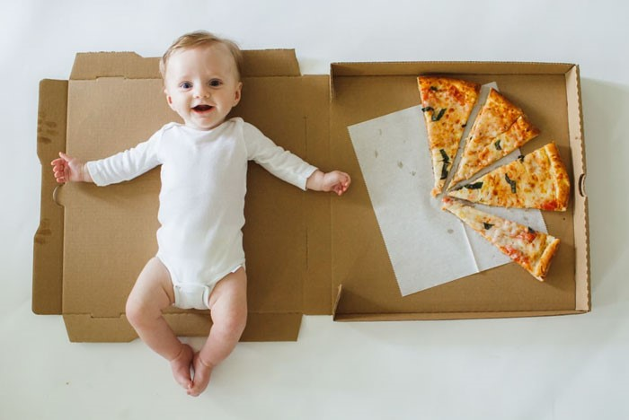 Pizza for babies