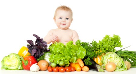 Vegetables for babies