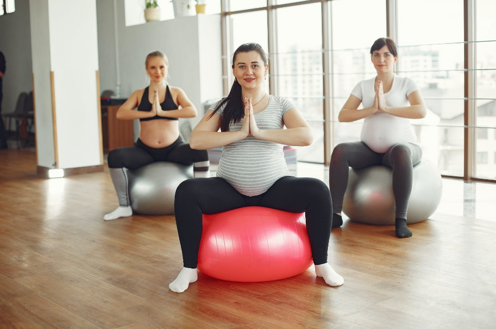 during pregnancy exercise