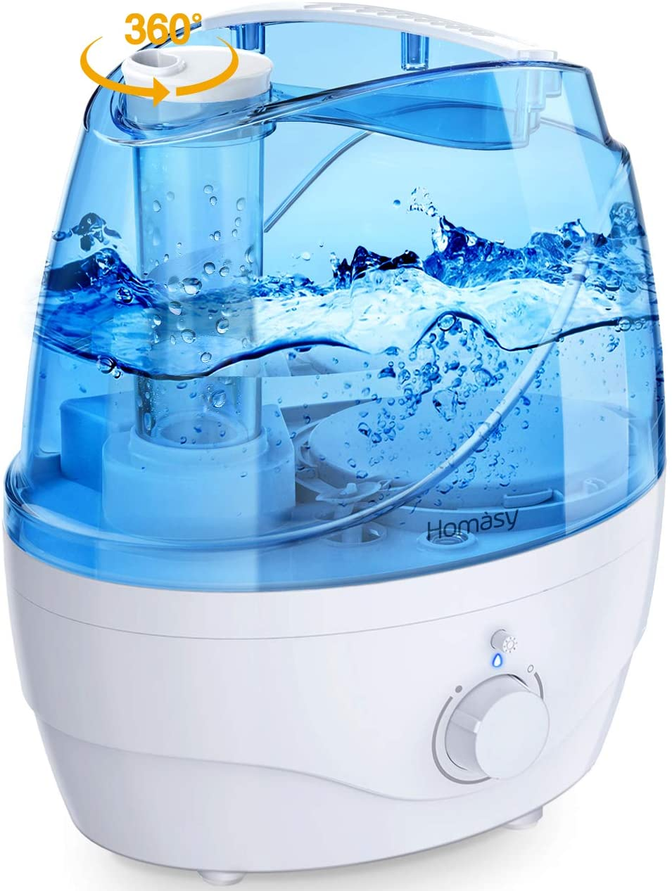 Homasy Cool Mist Best Baby Humidifiers