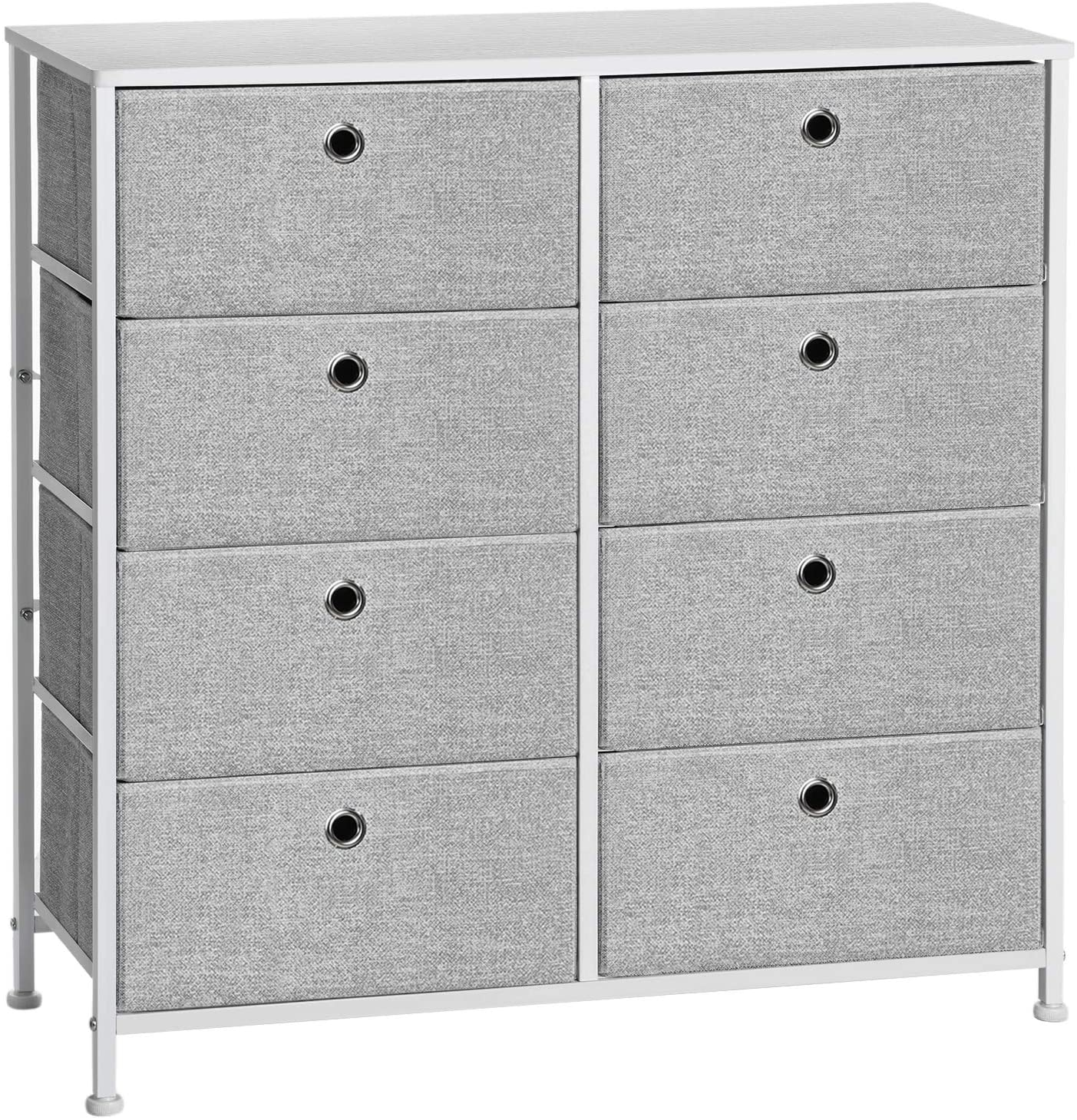 SONGMICS 4-Tier Storage Best Baby Nursery Dresser