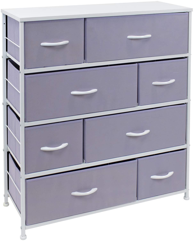 Sorbus 8 Drawer Best Baby Dresser for Nursery