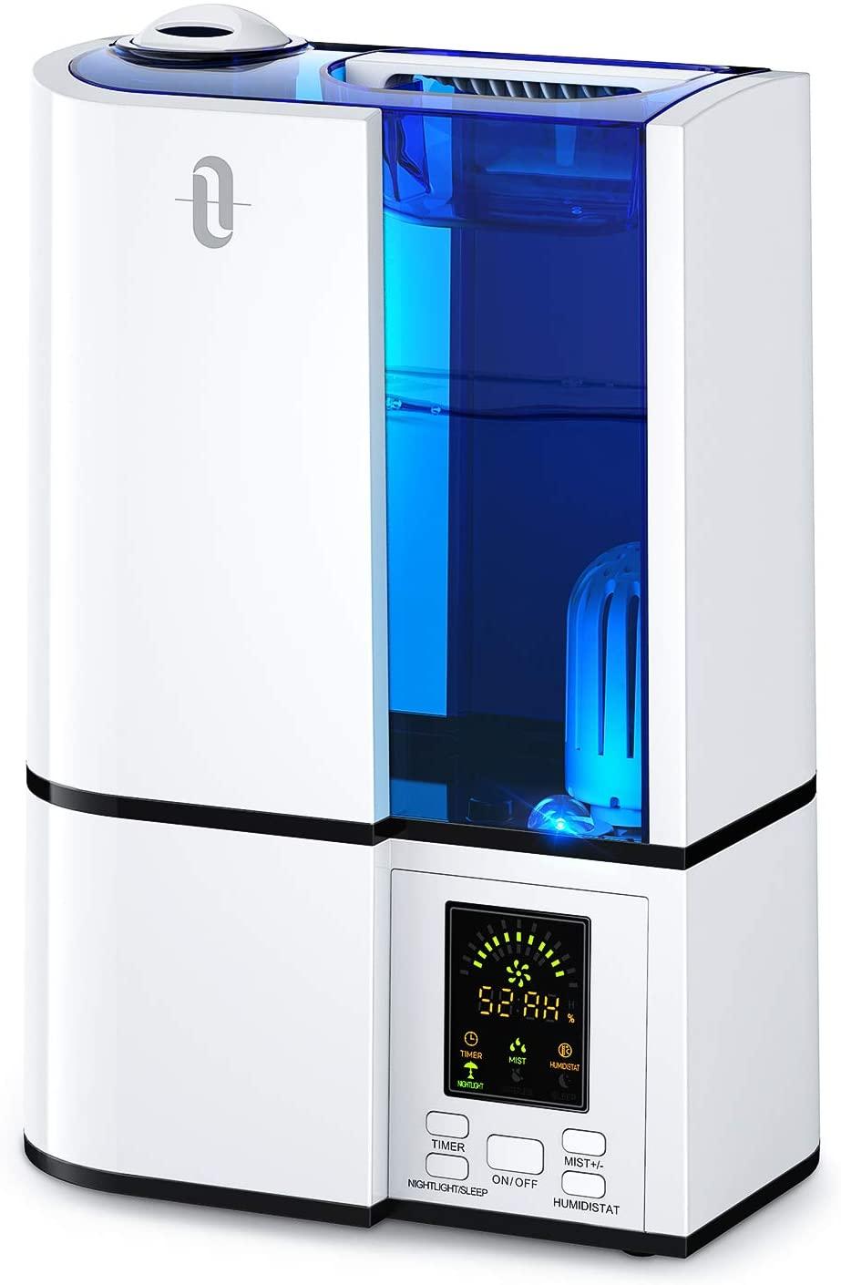 TaoTronics 4L Cool Mist Ultrasonic Best Baby Humidifier