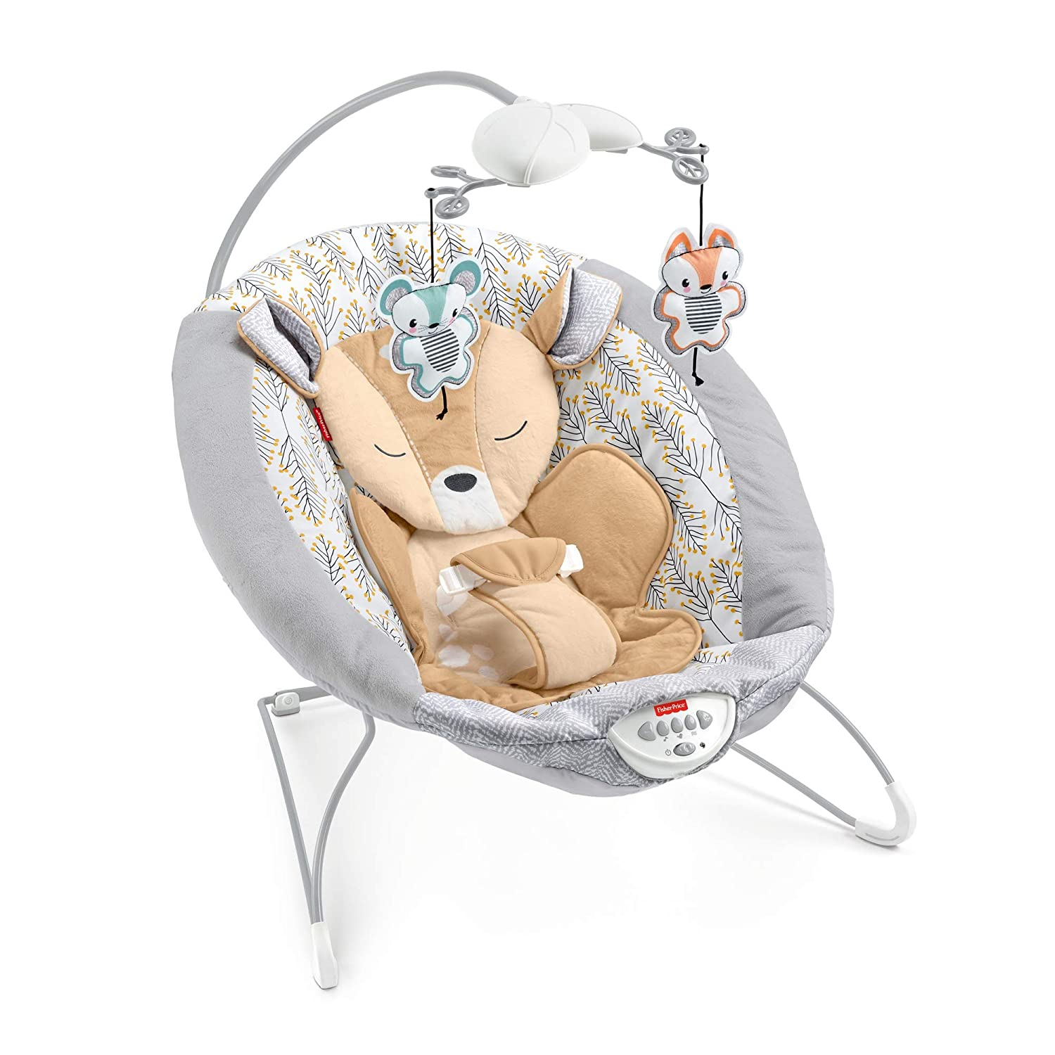 Fisher Price Fawn Meadows Deluxe Best Baby Bouncer
